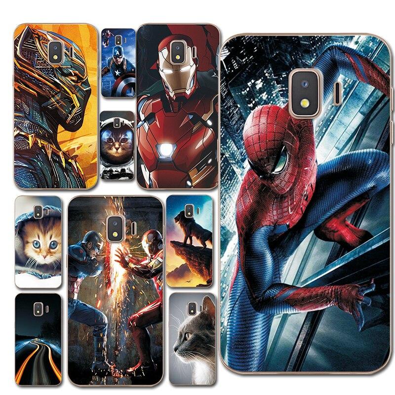 Starry Sky Phone Bags For Samsung Galaxy J2 Core J260F Spiderman Silicon Case Cover Fantasy Brilliant Fundas For Samsung J2 Core
