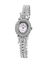 d7a91eb9468 Royal Crown Jewelry Watch 2527B Italy brand Diamond Japan MIYOTA platinum  Europe ladies high quality womens