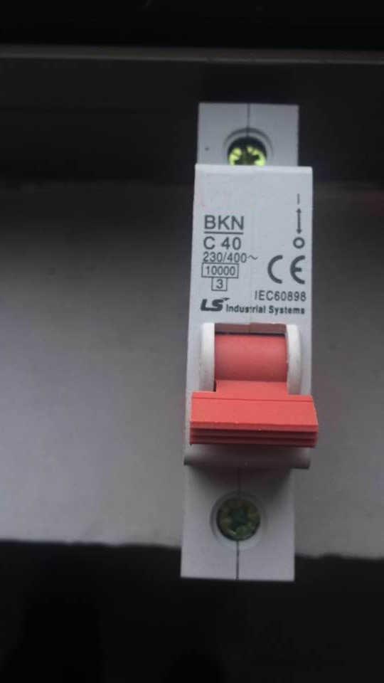 BKN 63Amp 1 pole mini type circuit breaker MCB