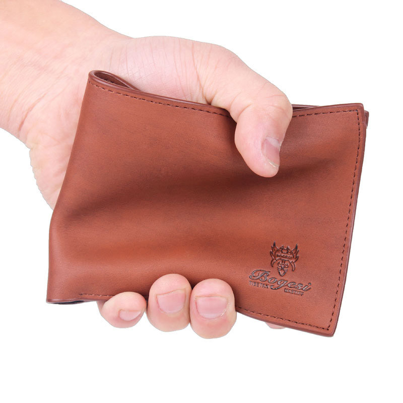 Hot sale Men Wallets brand new soft man purse small Boy Bag Famous Design Leather Business Credit Card Holder Wallet gift 2018 hot sale 2015 harrms famous brand men s leather wallet with credit card holder in dollar price and free shipping