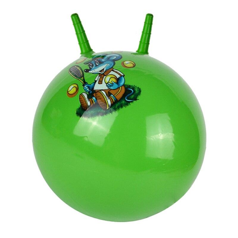 45cm Verdickt Springenden Ball Spielzeug Hohe Qualität Aufblasbare Cartoon Springen Ball Bounce Stress Ball Kinder Gesundheit Pflege Spielzeug Bälle