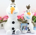 Disney Toys New Arrival 2015 Kids Toys Cute Cartoon Kawaii Olaf Frozen Plush Toys Girls Gift Stuffed Dolls 23/30 Cm Ty021