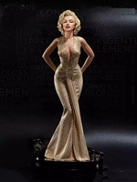 High quality 40Cm Sexy Marilyn Monroe Female Collectible Figure Status Action Figure Toys Christmas Gift Collection Doll