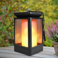 Decorative Rechargeable Waterproof Solar Powered Candle Lights Solar Garden Lights Outdoor, Solar Torch Light with Flickering