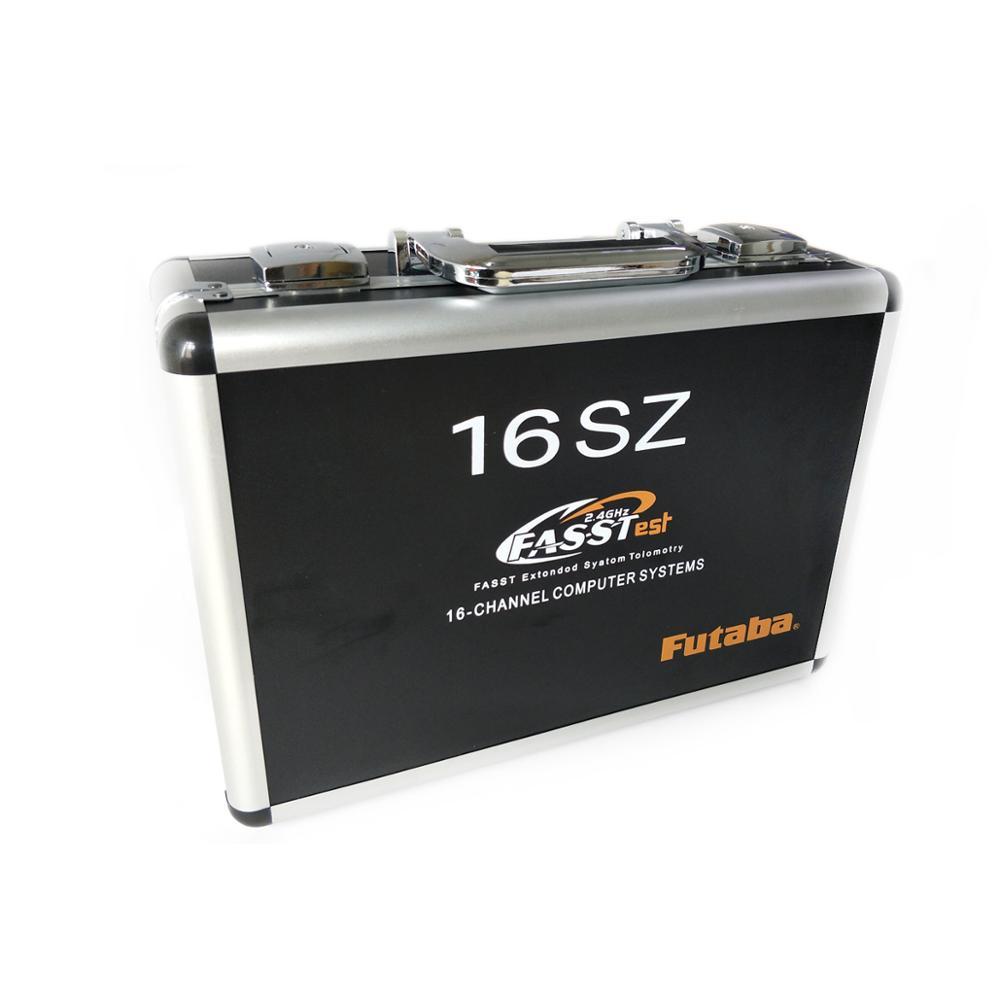 RC Drone Radio Remote Control Aluminum Case For Futaba 16SZ Remote Control Protection Box RC Plane Model Accessories