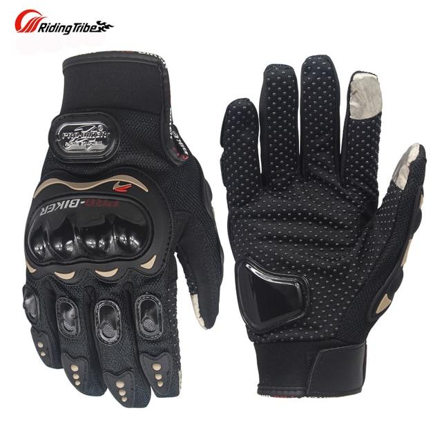 Guantes de la pantalla táctil de la Tribe de montar guantes de la  motocicleta del verano e717cb5d48b