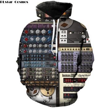 PLstar Cosmos Ableton-sudaderas con capucha de cuello redondo para hombre y mujer,...