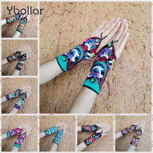 National Ethnic Miaoxiu Embroidery Bracelet Personality Chinese Handmade Embroidered Wide Cuff Bangle Wristband Gloves