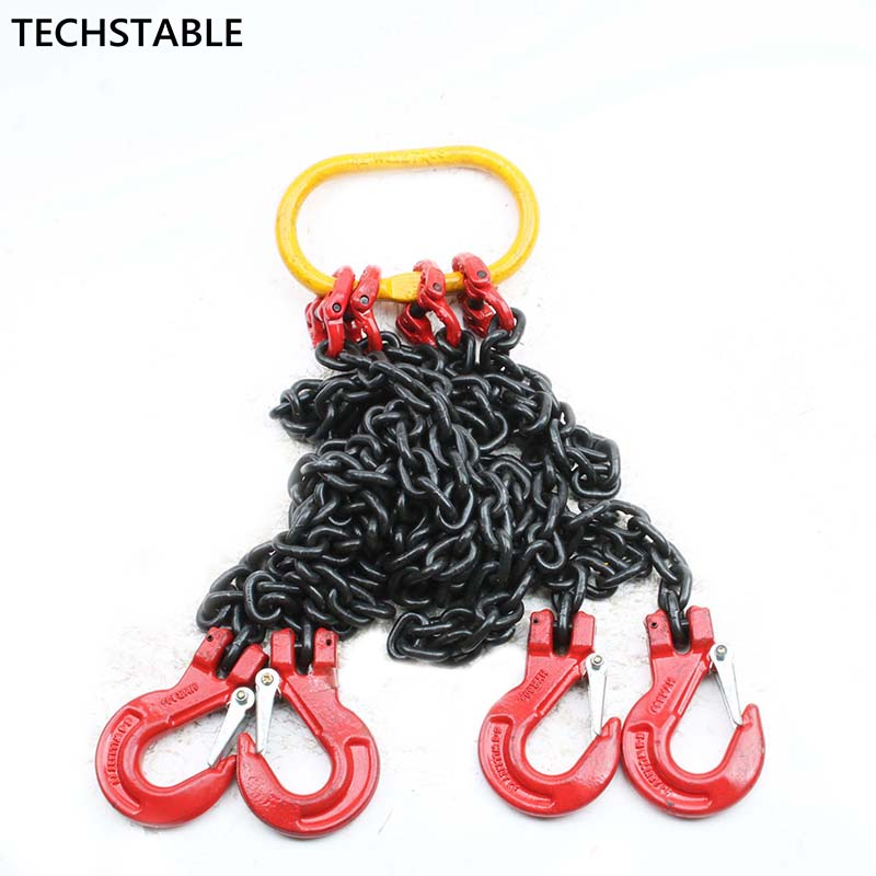 Lifting chain sling legs double hook combination spreader mold parts chain hoists 2T 1meter