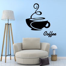 Hot Sale coffee Environmental Protection Vinyl Stickers vinyl Decoration Accessories