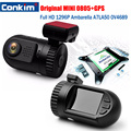 Mini Dashboard Car DVR Camera Ambarella A7LA50 OV4689 Full HD 1296P GPS Logger video Recorder dashcam Black Box registrar DVRs