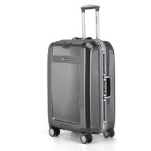 High-End Aluminum Frame Hard Case Spinner Rolling Luggage Men and Women Travel Suitcase 20″ 24″ 28″ inches Trolley Luggage Bag
