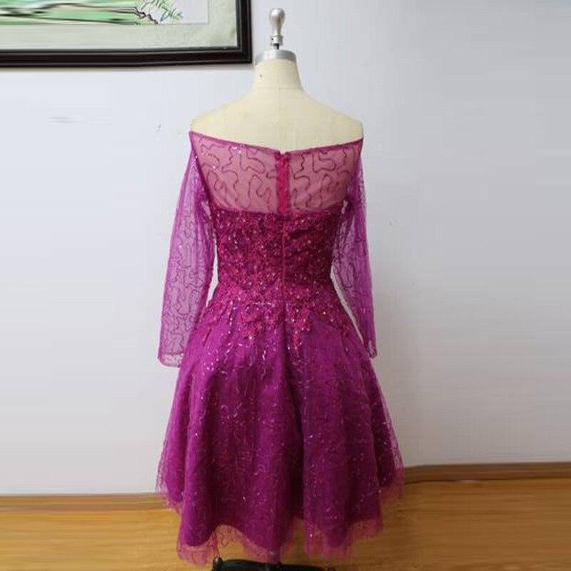De lujo de Lentejuelas Cuentas Vestido de Cóctel Corto Vestidos De ...