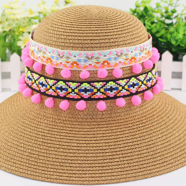 4Yards Lace Ribbon Sewing Accessories 1.2cm Pom Pom Tassel Pompoms Trim  Ball Fringe Embroidery Bag Gift DIY Apparel Fabric Cord 7d6923bbc67b