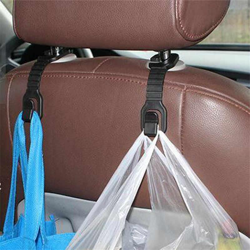 1 Pc Ecofriendly tylne siedzenie samochodowe wieszak na zakupy haki do torby torebka tkaniny do przechowywania produktów spożywczych samochodowy zaczep mocujący