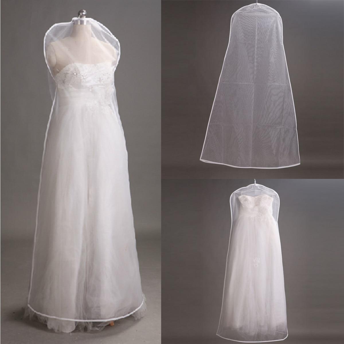Beschermhoes voor trouwjurk