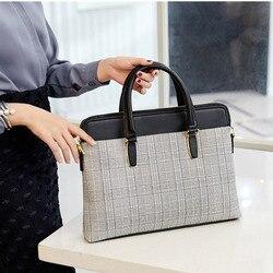 Saco de negócios de couro feminino bolsa portátil tote mulher grad messenger crossbody sacos para mulher maleta de couro bolsa 2019