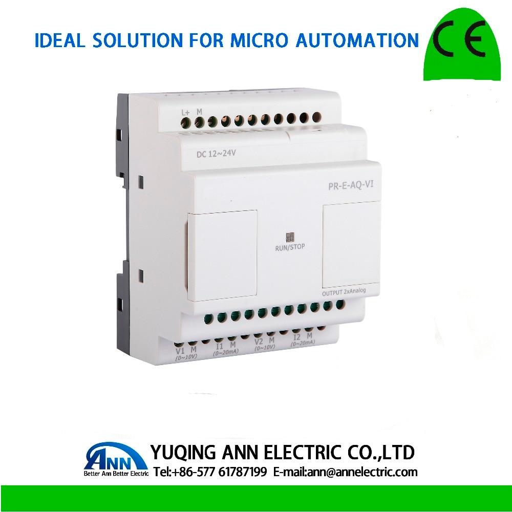 все цены на PR-E-AQ-VI,expansion module,  Programmable logic controller,smart relay,Micro PLC controller , CE ROHS онлайн
