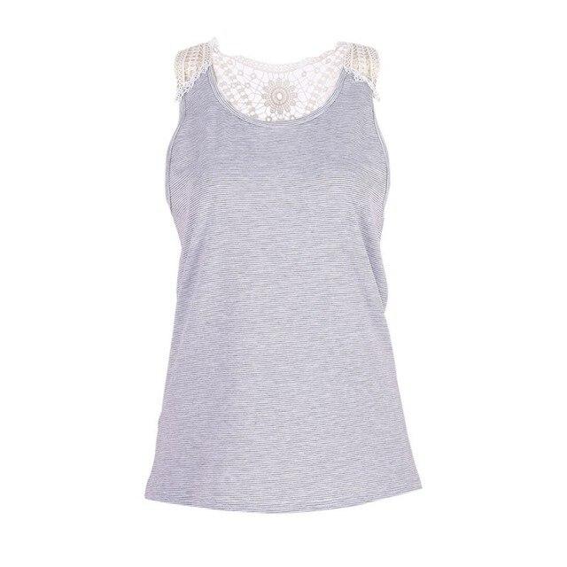 25e702c35d92d Femme Vêtements de Bande Réservoir Tropical Tops Dentelle Sexy Top fitness  t-shirt Casual Top