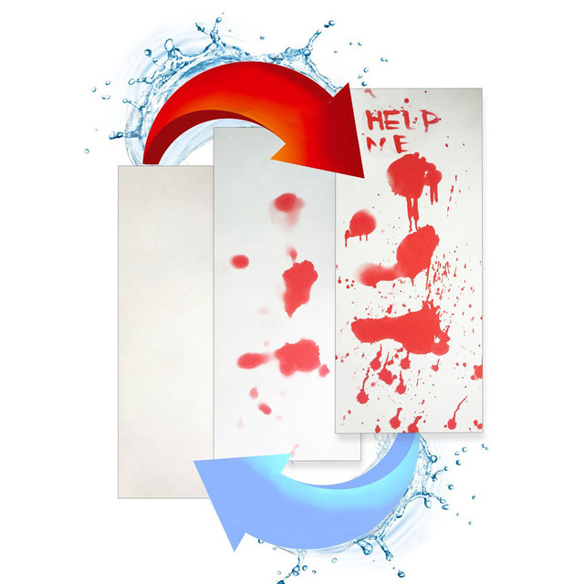 Sanguinosa Da Bagno Zerbino Colore Che Cambia Copriletto Diventa Rosso Bagnato Ti Fanno Sanguinamento Impronte Dropshipping Aug0827