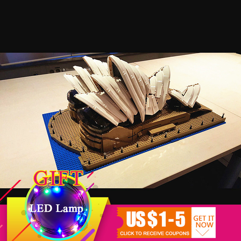Здесь продается  17003 2989Pcs Sydney Opera House set City Series Compatible with 10234 Model DIY Building Kits Blocks children toys gift  Игрушки и Хобби