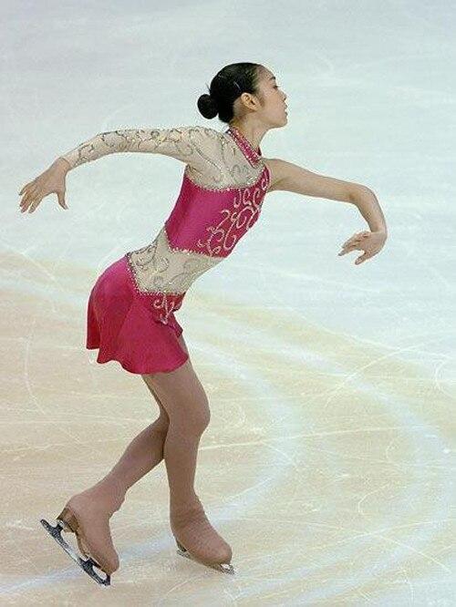 рожевий катання на ковзанах плаття - Спортивний одяг та аксесуари - фото 1