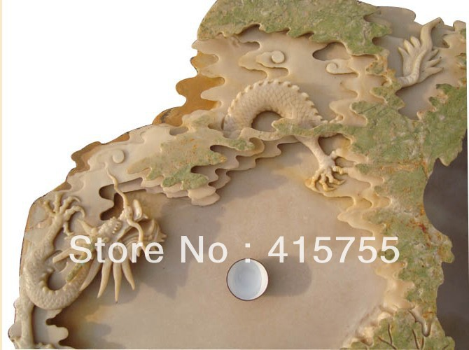 Chinese characteristics stone tea tray anf fish tank arts and crafts,collection nice home decoration and business gifts