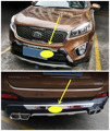 For KIA Sorento 2015.2016.2017 Sorento L BUMPER GUARD Front Rear ISO9001 High Quality Luxury models Auto BUMPER Plate