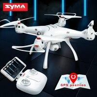 SYMA X8PRO Drone с Wi Fi камера HD FPV в режиме реального времени Drone gps Профессиональный Квадрокоптер Радиоуправляемый вертолет Quadcopter селфи дроны