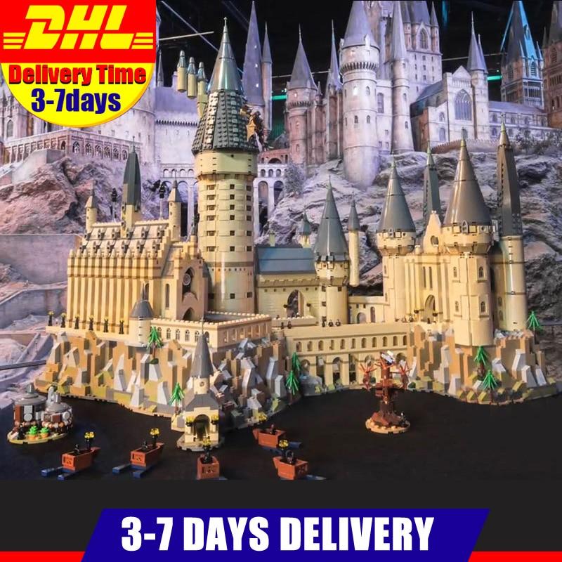 6742 nuevo Compatible 71043 Lepin 16060 2018 unids más grande mágico Castillo de Hogwart juego de construcción bloques juguetes regalos