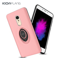 ICONFLANG Original PC Phone Case For Xiaomi Redmi Note 4 Note 4X Ultra Thin Protective Cover