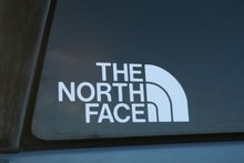 Car styling for The North Face Die-cut Car Window Sticker! Buy 2 Get 1 FREE ! ! ! !(China)