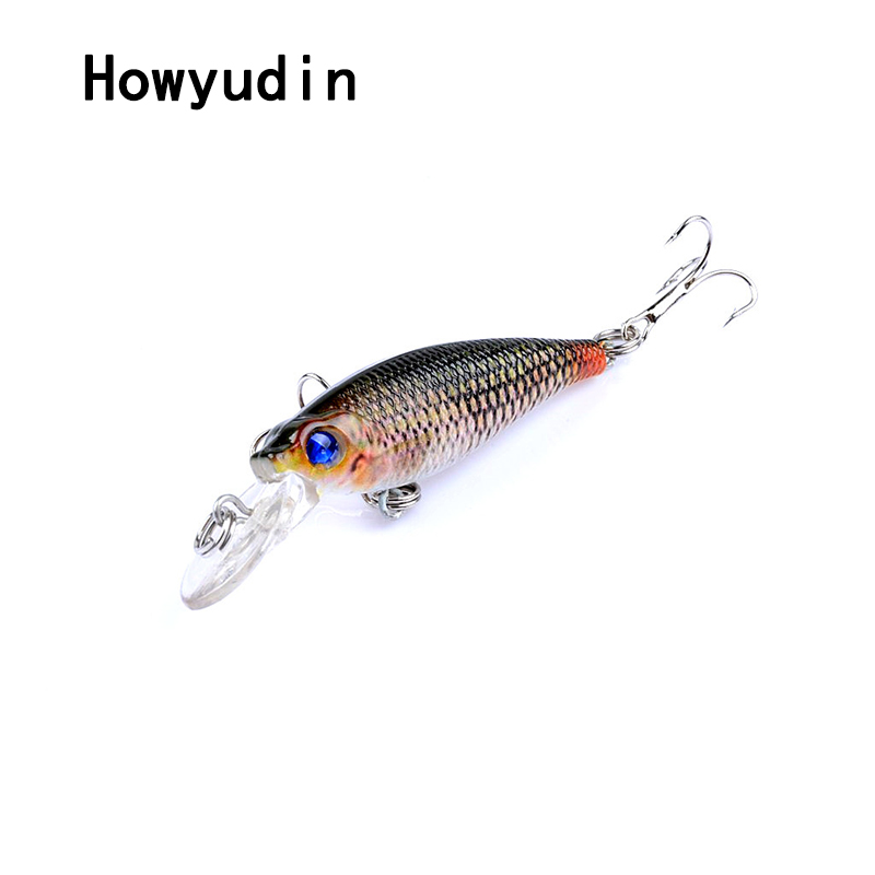 Howyudin 1Pcs fishing lure 6.5cm/5g minnow High quality isca artificial Fine scales leurre Streamline fishing lures wobbler bait allblue slugger 65sp professional 3d shad fishing lure 65mm 6 5g suspend wobbler minnow 0 5 1 2m bass pike bait fishing tackle