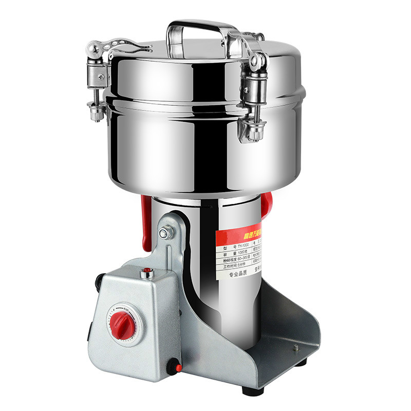 Coffee Grinders 1000g large - sized Chinese traditional medicine grinder household commercial grain flour mill grinding coffee grinders electric grinder for the traditional chinese medicine grinding grain flour coffee grinder