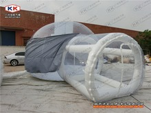 garden party inflatable clear bubble dome tent with cover for sale