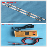 LED Backlight strip For LG 42 inch TV 8Lamp 42LY320C LC420DUE 42LB5610 42GB6310 LCD Monitor Original 2pcs and LED tester 1pcs