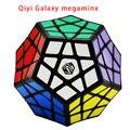 2016 nueva qiyi galaxy megaminx (cóncava/escultura/avión/convexa) x-man profesional magic speed cubo rompecabezas educativos juguetes x-man