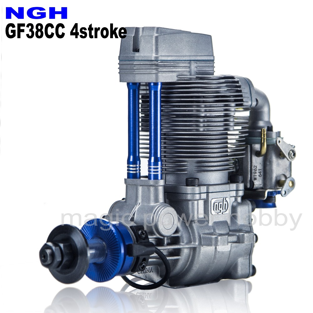 NGH Gas Engine 4Stroke NGH GF38CC Gasoline Gas Pentrol Engine Motor For RC Airplane Multicopter Drone