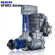 Motor de gás ngh, motor de pentrol de gasolina gf38cc com 4 tempos ngh para avião rc e multicopter
