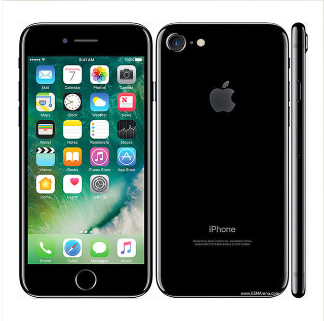 Apple iPhone 7 Original Factory Unlocked Mobile Phone 4G LTE 4.7″ Quad Core A10 12MP RAM 2GB ROM 32GB/128GB/256GB Cell phone