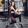 2016 New Fashion Women Ankle-length Casual Leggings Quick Dry Slim High Elastic Sporting Leggings Compression Pants