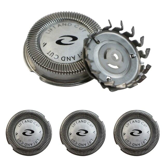 Cortadores de la cabeza de la afeitadora de reemplazo 3x para Philips HQ4 HQ58 HQ80 HQ56