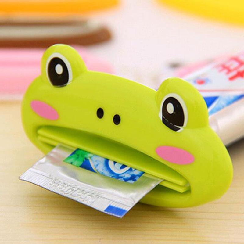 2 Stks/partij Tube Rolling Holder Squeezer Gemakkelijk Cartoon Tandpasta Dispenser Tandenborstel Houders Mooie Dier Buis Bevorder De Productie Van Lichaamsvloeistof En Speeksel