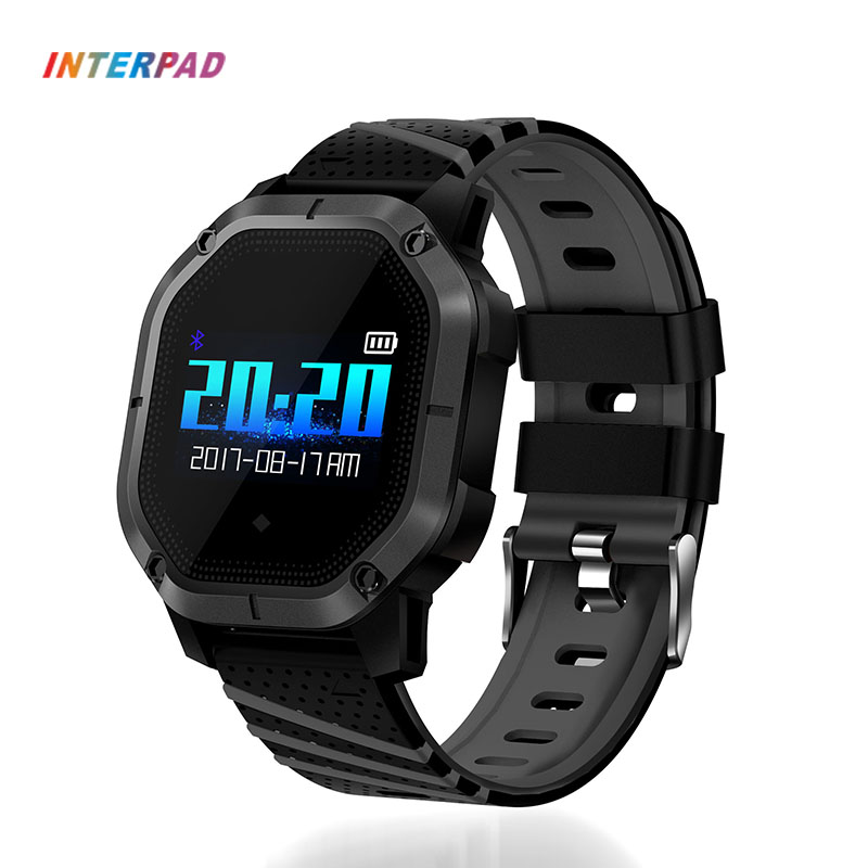 Interpad Smart Watch IP68 Professional Waterproof Multiple Sports Mode Heart Rate Monitor Blood Oxygen Blood Pressure Smartwatch interpad smart watch professional sports algorithm altimeter thermometer smartwatch heart rate monitor smart watch for xiaomi