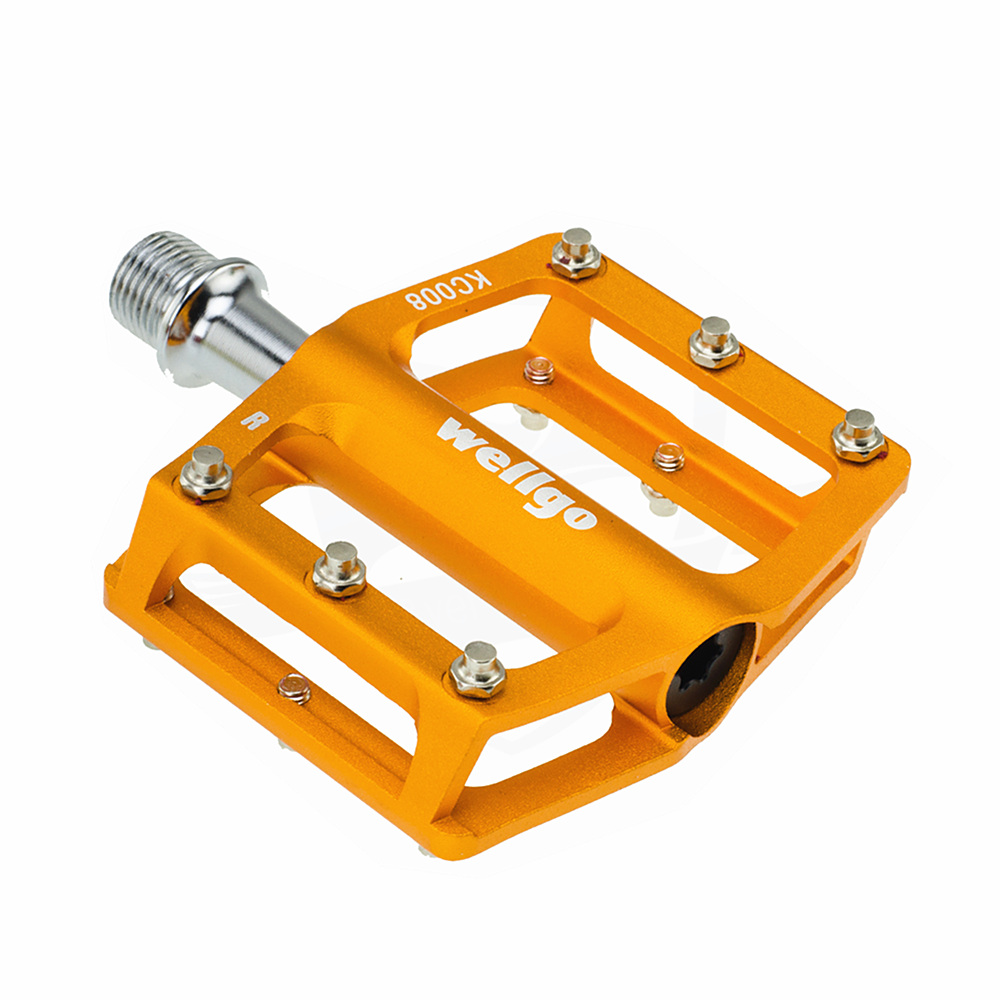 1 Pair Bicycle Pedals Aluminum Platform Pedal MTB BMX Road Bike Cycling Parts``