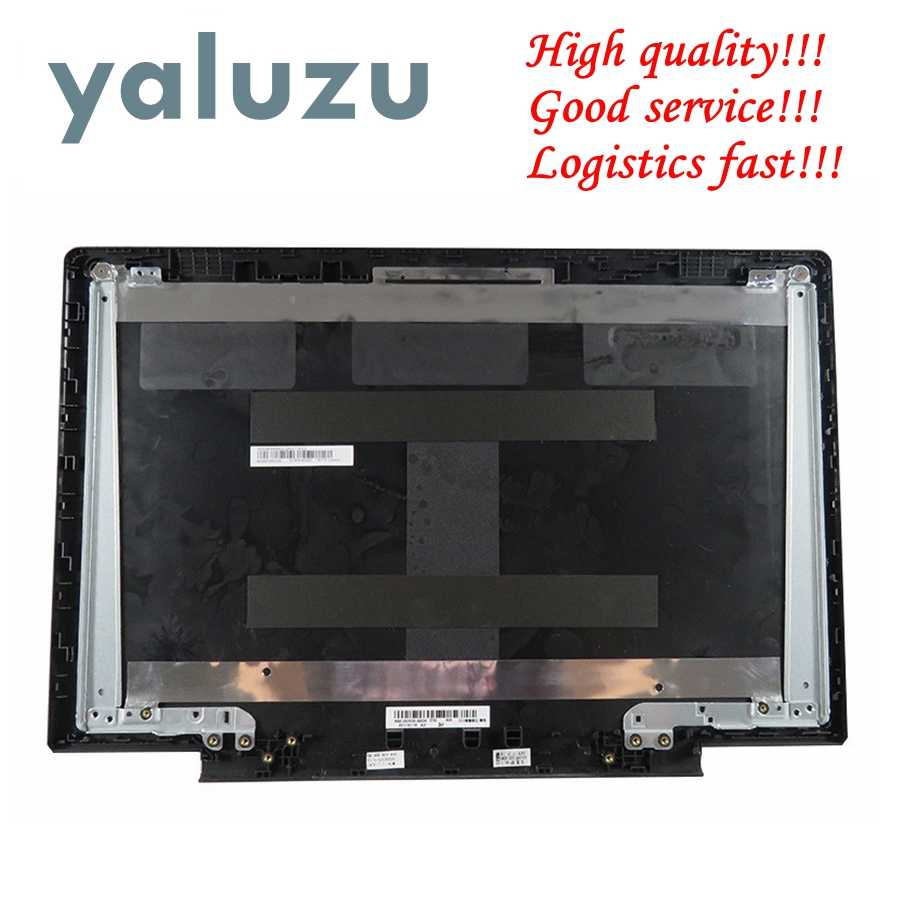 Yaluzu Baru LCD Top Cover Case untuk Lenovo IDEAPAD 700-15 700-15ISK Laptop Back Cover Hitam