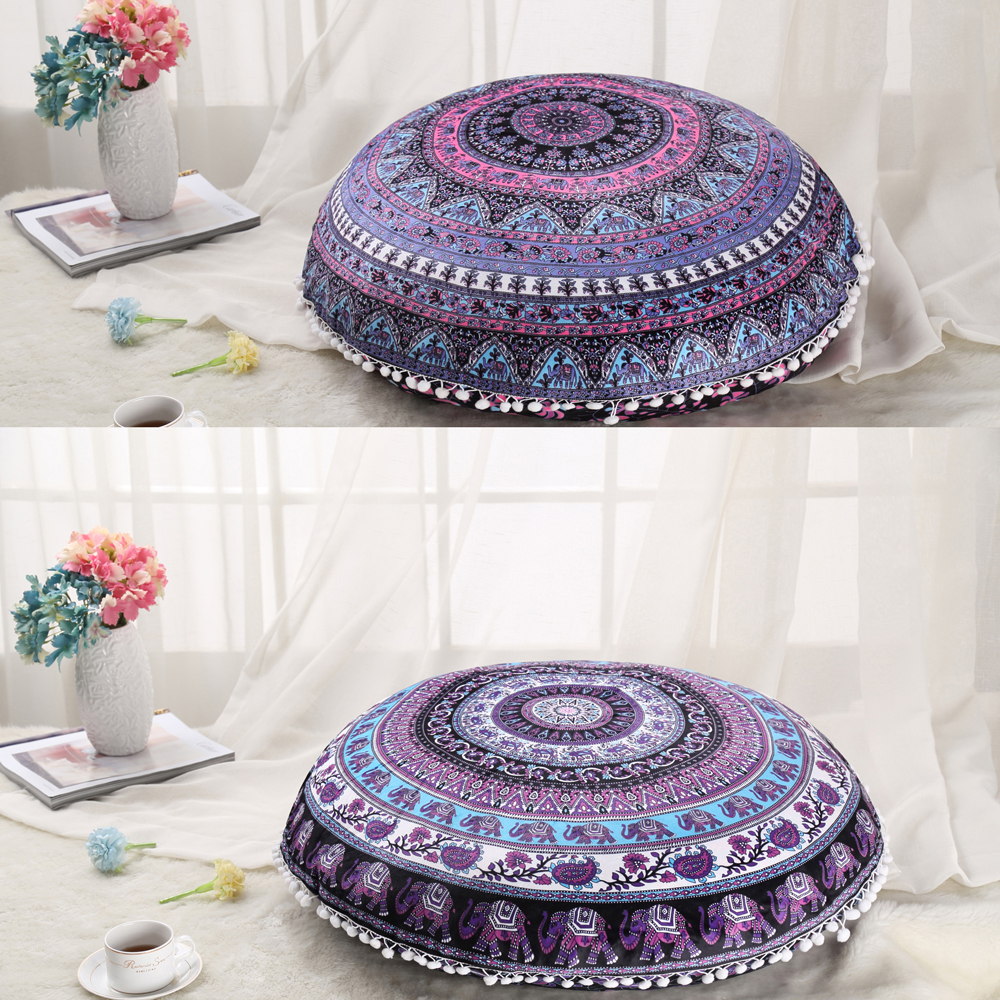 Ronda Cojín Decorativo Almohada Cubierta Elefante Mandala Throw ...