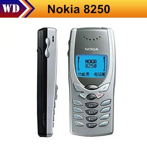 Цена за 8250 оригинальный разблокирована nokia 8250 mobile телефон двухдиапазонный классический дешевый сотовый телефон бесплатная доставка