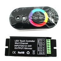 D14 Touch LED RGB Controller RF Wireless Remote Control RGB CT DIM DC12 24V For LED