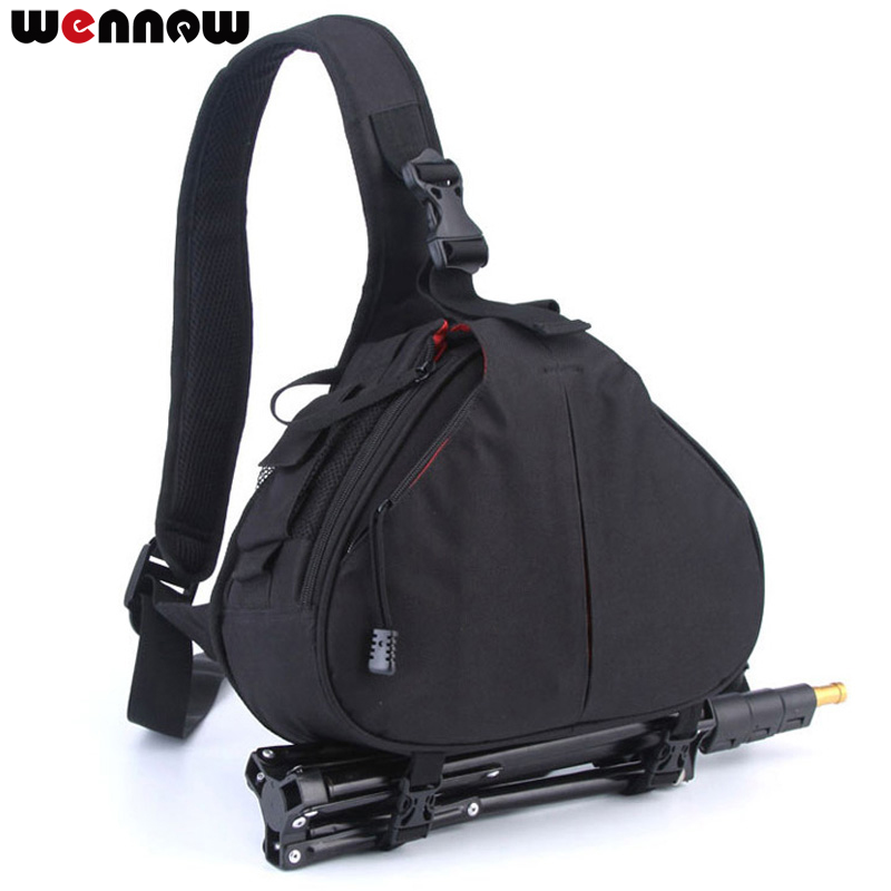 Waterproof Backpack Shoulder DSLR Camera Bag Case for Canon EOS Rebel T7 T7i T6i T5i T6s T6 T5 T4i T3i T3 T2i T1i XTi XSi SL2 SL image